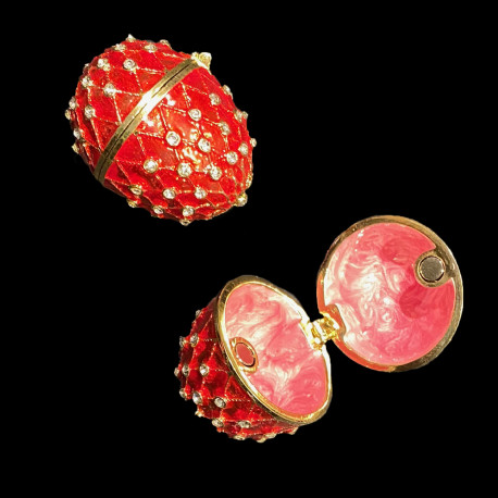 Boite oeuf style Fabergé