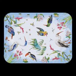 """Petit Plateau """"Les Oiseaux"""" bois mélaminé"""