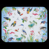 "Large melamine tray ""The Birds"" Buffon collection"