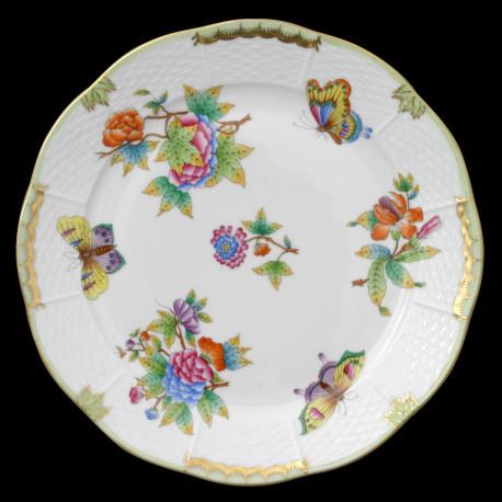 Assiette de table 25cm Victoria Herend