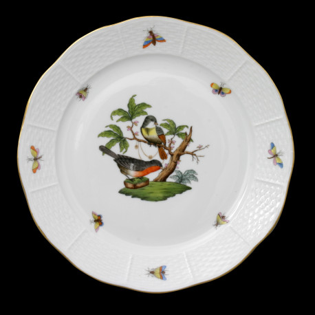 Assiette de table 25cm Rothschild Herend