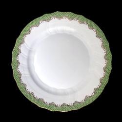 Dessert plate Herend Fish scale rust 21 cm