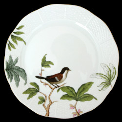 Deep plate 23cm Foret Herend