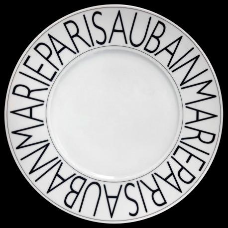Porcelain presentation plate Graphic