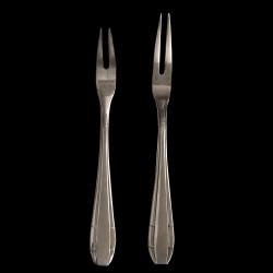 Fourchette à escargot métal argenté