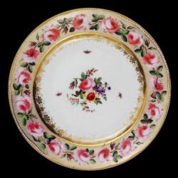 """Assiette en tôle Musées """"Roses"""""""