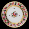 "Decorative tin plate ""Roses"""