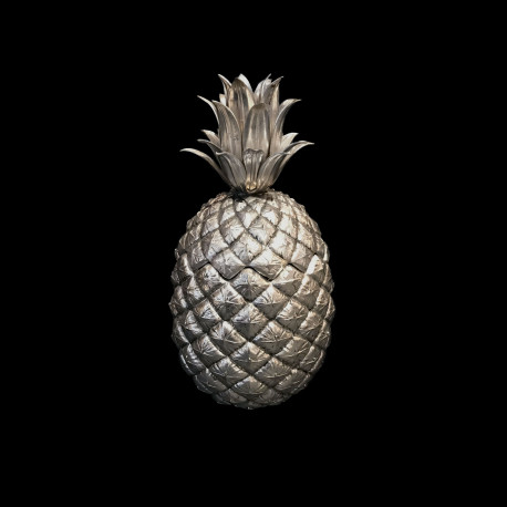 Pineapple Ice Bucket by Mauro Manetti, silver plated