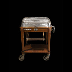 Meat-Trolley by Christofle, Silver Plated, circa 1940