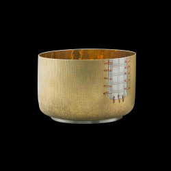 "Small cup in gilded brass ""Aichi"""