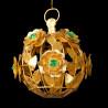 Sphère de Roses coeur Emeraude