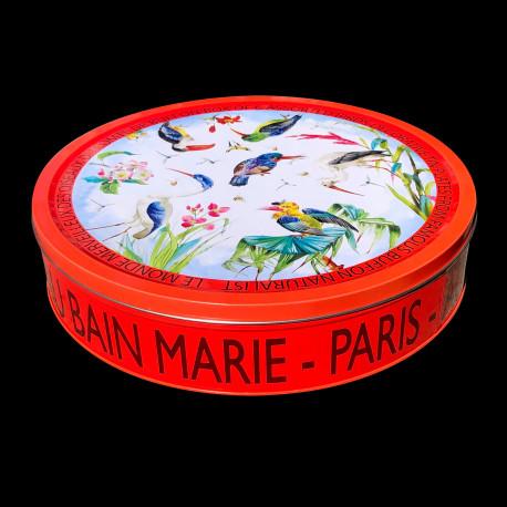 "Tin box of 6 tin plates ""The Birds"" Buffon collection"