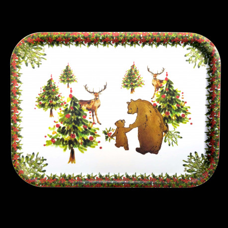 Red Nose small tray
