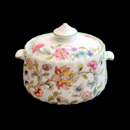 Minton Haddon Hall Covered Sugar Bowl