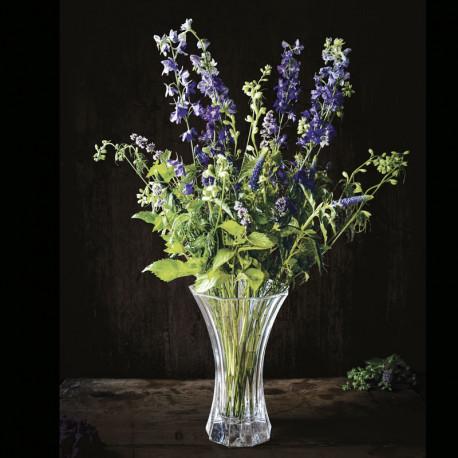 Large crystal sparkle vase