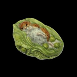 "Beatrix Potter Hamster et petits pois ""Timmy Willie Sleeping"" 3,5 cm"
