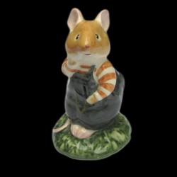 "Beatrix Potter Souris se tenant la joue ""Wilfred Toadflax"" 8,5 cm"