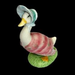 """Beatrix Potter Oie chapeautée """"Gemina Puddleduck"""" 11,5 cm"""