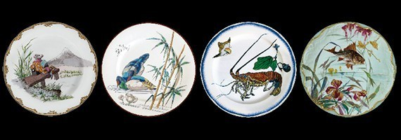 Decorative printed tin plates