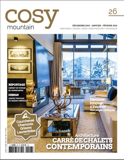 Cosy mountain couverture